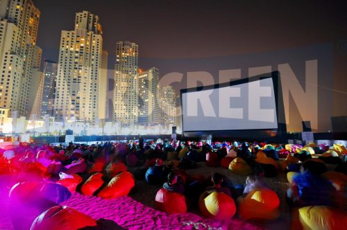 outdoor movies at Dubai International Film Fest