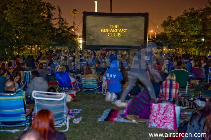 Outdoor movies bringing the community together
