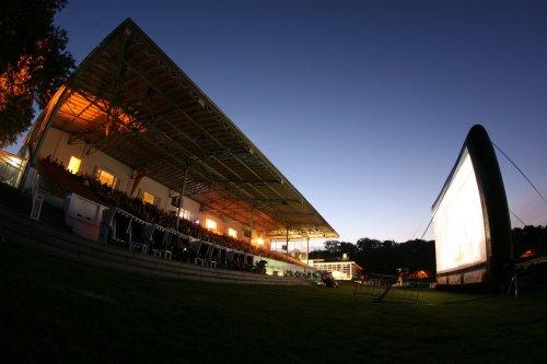 Open air cinema in Germany