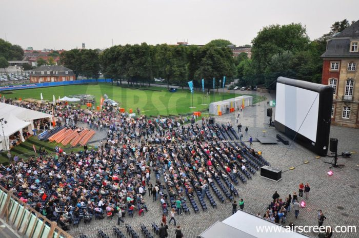 AIRSCREEN Open-air-cinema