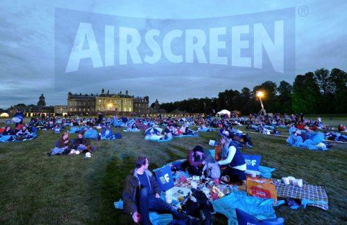 inflatable movie screen Scotland