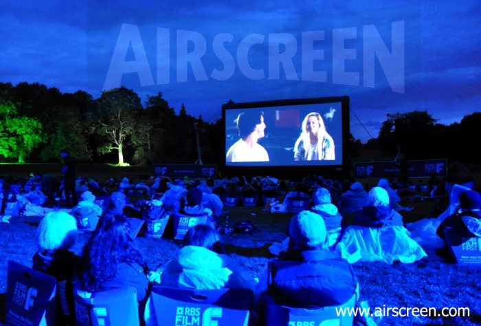 AIRSCREEN inflatable movie screen