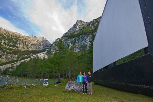 Open air cinema with AIRSCREEN