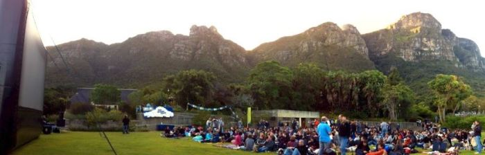 Unique Open Air Cinema in South Africa