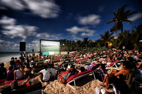 AIRSCREEN outdoor cinema