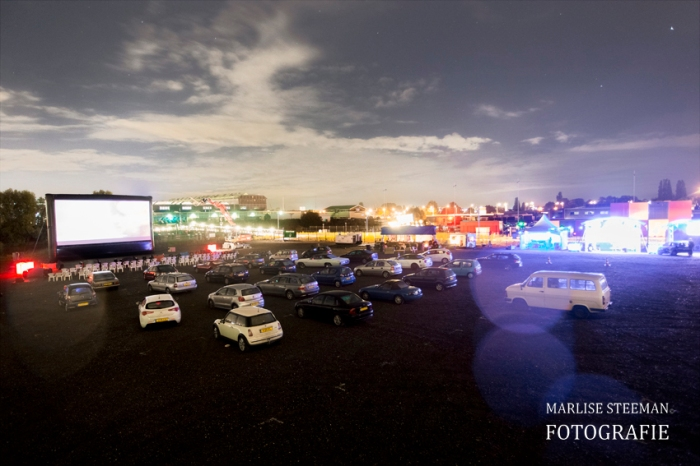Drive-in cinema with AIRSCREEN