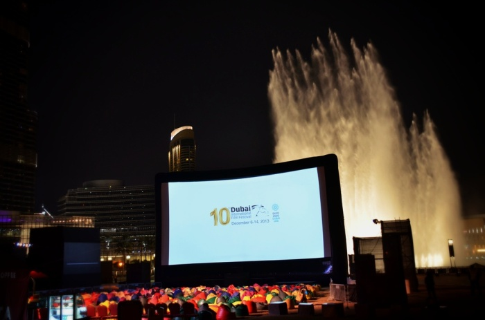 20m x 10m (66ft. x 33ft.) inflatable movie screen