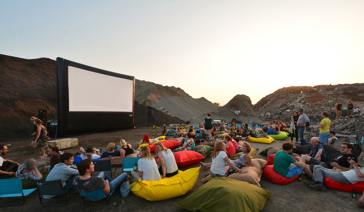 movies in the open air
